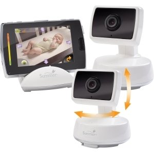 summer infant baby touch boost digital color video monitor with extra camera 28840. Black Bedroom Furniture Sets. Home Design Ideas