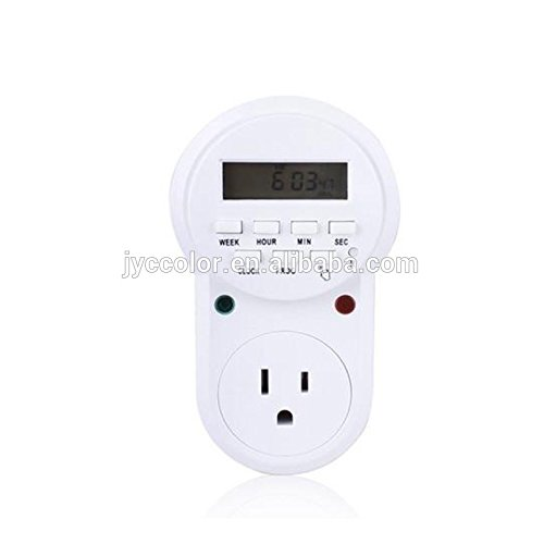 Digital Programmable Timer Socket Plug Wall Home Plug-in switch Energy-Saving Outlet (DT-01)