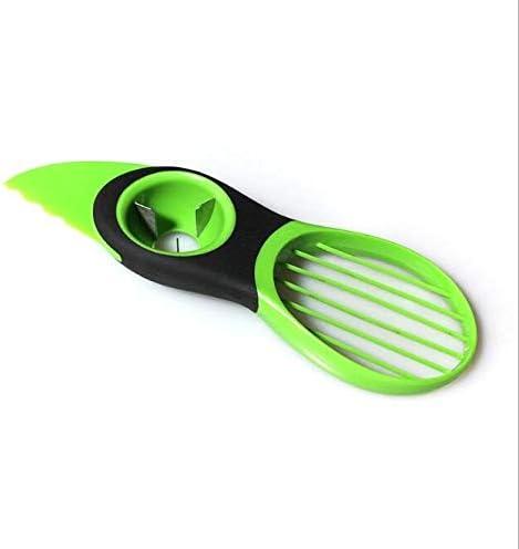 NA Máquina de Cortar FGF Aguacate pelado máquina multifunción Distribuidor de Frutas de plástico (Color : Light Green)