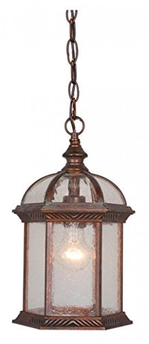 Vaxcel Vaxcel OD39786RBZ Chateau 8 Outdoor Pendant, Royal Bronze by Vaxcel