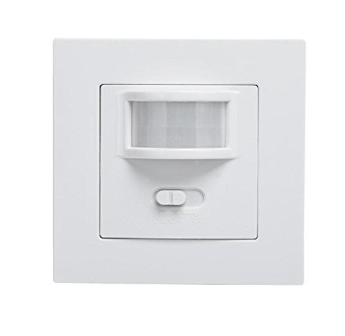 Mathmos Light (Sumilulu AC 220V 160° Infrared PIR Motion Sensor Recessed Wall Lamp Bulb)