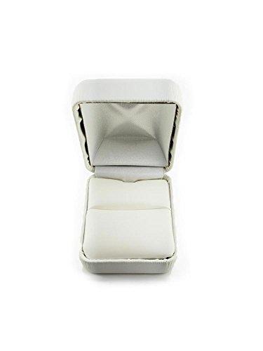 Men's 14K ROSE GOLD DESIGNER BOX STEP ROPE 5.5mm COMFORT FIT WEDDING BAND size 7.25