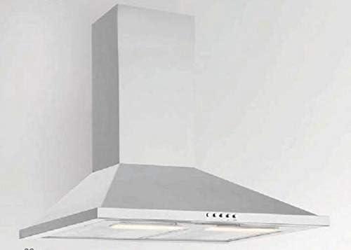 RASANTI Silverline Dew 653 E - Campana extractora de pared (60 cm, acero inoxidable): Amazon.es: Hogar
