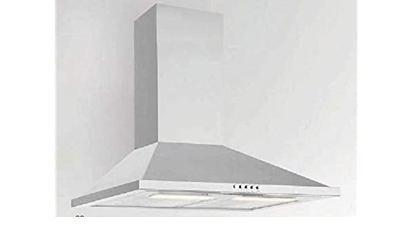 RASANTI Silverline Dew 653 E - Campana extractora de pared (60 cm, acero inoxidable): Amazon.es: Hogar
