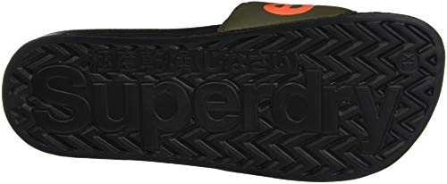 Superdry Chanclas Black Hombre para Olive Negro Gs8 Pool Slide ZqwaZxTg