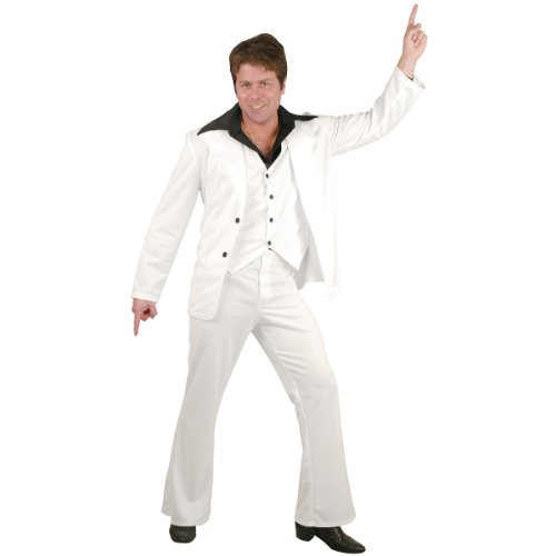 Disco Fever Costume - X-Large - Chest Size (Creative Guys Halloween Costume Ideas)