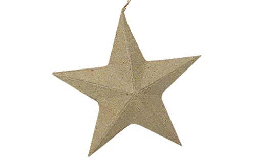 (Craft Ped Paper CPL1008344 Mache Ornament Star Kraft)