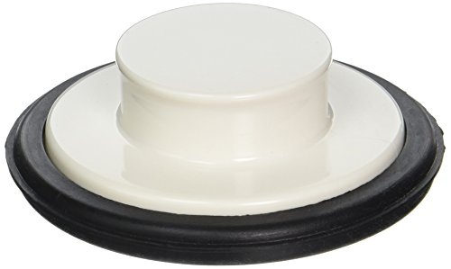 LDR 551 1470WT Garbage Disposal Stopper without Flange, White by LDR Industries