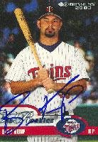 Beau Kemp Fort Myers Miracle - Twins Affiliate 2003 Donruss The Rookies Autographed Card - Minor League Card. This item comes with a certificate of authenticity from Autograph-Sports. Autographed