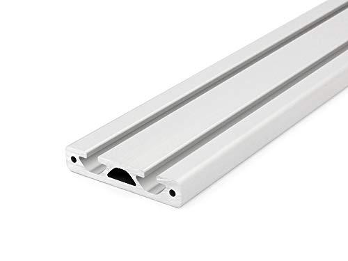 50mm 6,50 EUR//m + 0,25 EUR pro Schnitt, min. 2,50 EUR Aluminiumprofil 40x16E I-Typ Nut 8 Zuschnitt 50mm-2000mm