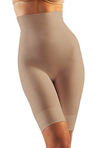 contenitivi shorts up Oakeysì alta vita modellante COK04 Guaina Nude cotone push nB0wFxg
