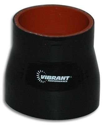 Vibrant 2776 Black 4 Ply Reducer Coupling (Black Reducer Coupling)
