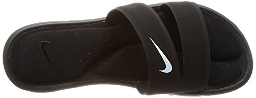 Sandal Nike white black Comfort Ultra Slide Women's Black rIIq4pw