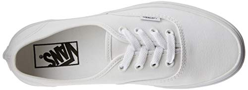 true White Authentic Unisex Adulto Blanco Zapatillas Vans XAOgn