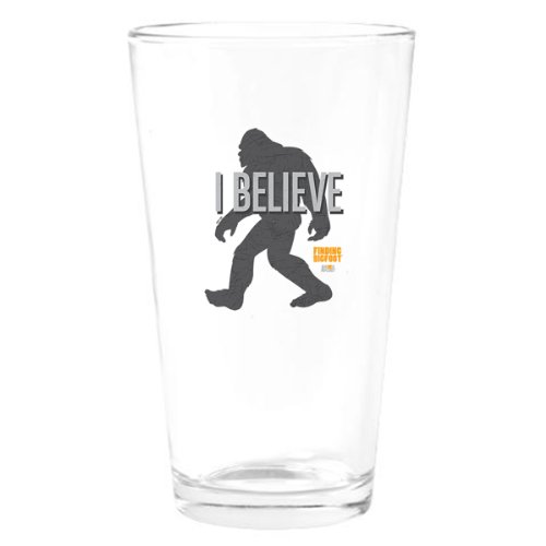 Finding Bigfoot I Believe Drinking Glass