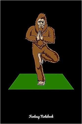 Fantasy Notebook: Bigfoot Yoga Notebook: Amazon.es: Cloud ...
