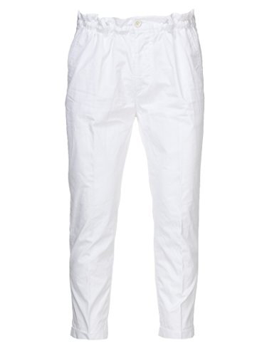 Dsquared2 Men Pants - DSQUARED2 Men's S71kb0073s41796710 White Cotton Pants