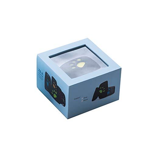 Studyset Cute Lightweight GPS Dog Cat Pet Realtime Tracker GSM/GPRS Finder Locator Alarm Waterproof Collar ()