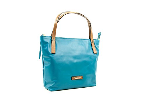 Shopper The Bridge in pelle linea Calypso 0446563R avion cuoio