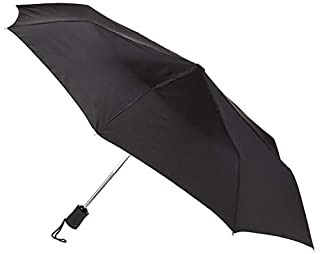 Lewis N. Clark Windproof and Water Repellent Travel Umbrella, Black (B000F1RGBU) | Amazon price tracker / tracking, Amazon price history charts, Amazon price watches, Amazon price drop alerts