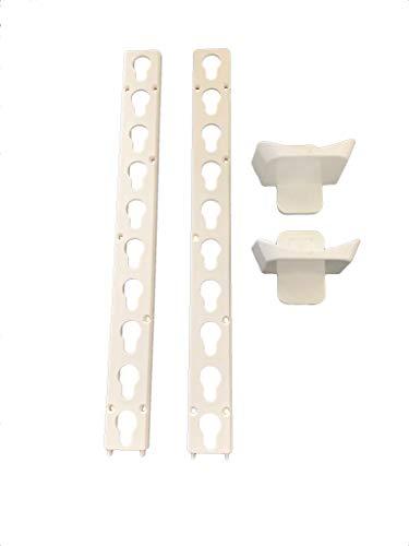 Horse Jump Plastic Keyhole Track & Cup Set White