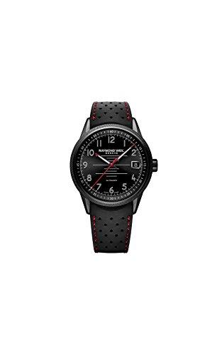 Raymond Weil Freelancer Black Dial Automatic Mens Sports Watch 2754-BKR-05200
