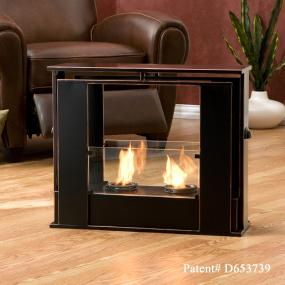 sei portable indoor outdoor fireplace kitchen