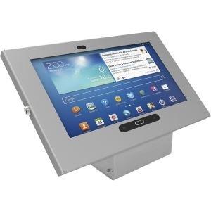 Maclocks 101S300GES Drawing Enclosure Kiosk for Web Tablet/Samsung Galaxy Tab 3 25.7 cm (10.1 Inch) Aluminium-Silver
