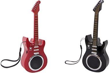 Radio FM y Altavoz diseño Guitarra Eléctrica. Batería de Litio ...