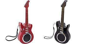 Radio FM y Altavoz diseño Guitarra Eléctrica. Batería de Litio, Display led, AUX