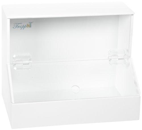 Acrylic Dispensing Bins (TrippNT 50160 White PVC/Acrylic Plastic Medium Dispensing Bin with 1 Compartment, 11.75