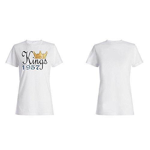König ist 1957 geboren Damen T-shirt b893f