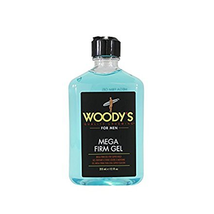 - Woody's Grooming: Mega Firm Gel, 12 oz (Set of 2)