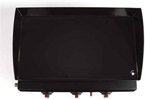 LIVOO DOC105N Plancha gaz noire