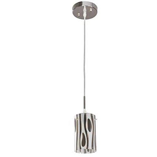 (Hampton Bay Armalinda 1-light Chrome Mini Pendant)
