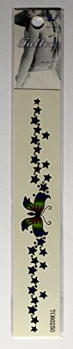 Butterflies Armband Tattoos - Mini Arm Band Temporary Tattoo TC60250