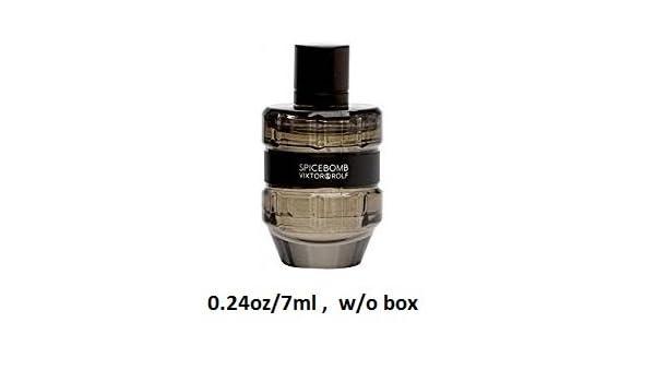 bd175e5e405b Amazon.com: Viktor & Rolf 'Spicebomb' Eau de Toilette, Deluxe Travel Size,  .24 oz/7 mL splash no box trial: Beauty