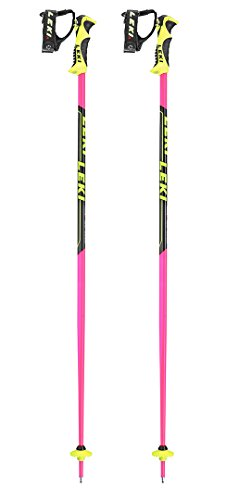 Leki WC Lite SL Trigger S Race Poles: Pink Edition: 46-115 by Leki