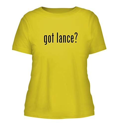 got Lance? - A Nice Misses Cut Women's Short Sleeve T-Shirt, Yellow, Large