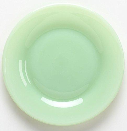 - Plain & Simple Pattern - Bread/Salad/Dinner Plate - Mosser Glass (6