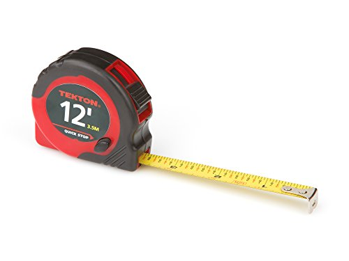 TEKTON 71951 12-Foot by 1/2-Inch Tape Measure