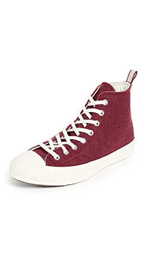 M Converse Chuck Felt Taylor Sneakers Men's Top 8 Red Heritage Us High '70s Terra egret xpxSwB