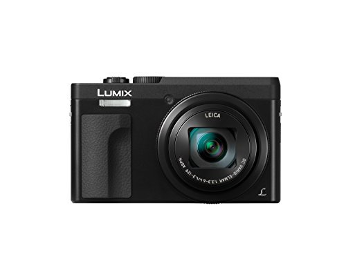 (PANASONIC LUMIX DC-ZS70K, 20.3 Megapixel, 4K Digital Camera, Touch Enabled 3-inch 180 Degree Flip-front Display, 30X LEICA DC VARIO-ELMAR Lens, WiFi (Black) )