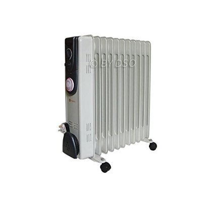 b1ff9e13aa1 Kingavon Oil Filled 11 Fin 2.5kW Slim line Radiator Heater 24 Hour Timer  OR101 by Kingavon  Amazon.co.uk  DIY   Tools