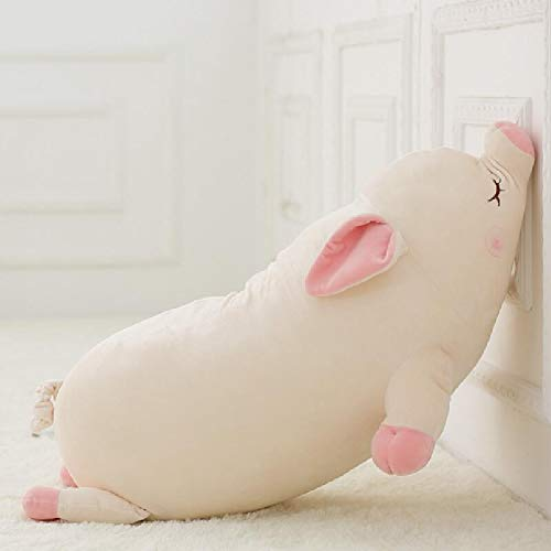 (MIIA Pig Stuffed - Cute Soft Down Cotton Pig Plush Doll Stuffed Pink Pig Doll Baby Software Pillow Gift for Girl - 18 Inch - Pet New Lunar Minecraft Valentines Potbelly Chinese Large)