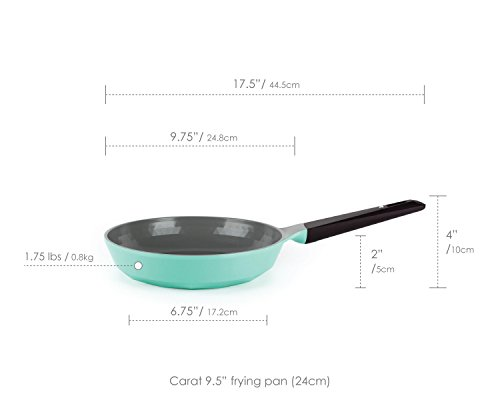 "Neoflam Carat 9.5"" Ceramic Nonstick Frying Pan, Fresh Green"