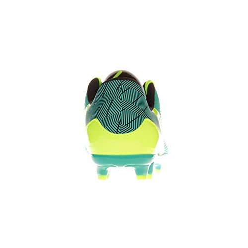Under Armour Mens Ua Sf Flash Fg Sneaker Lago Smeraldo / Nero / Giallo Alta Visibilità