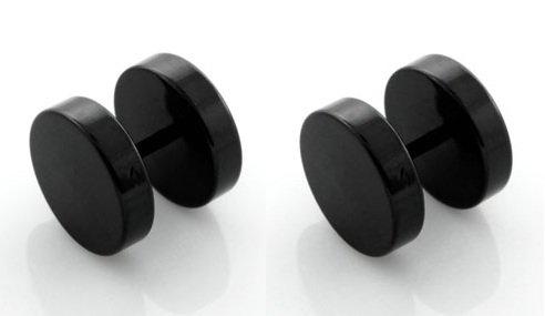 fake plugs schwarz