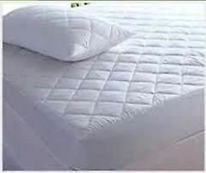 Love2Sleep SOFT EGYPTIAN COTTON COT BED 70 x 140 QUILTED MATTRESS PROTECTOR