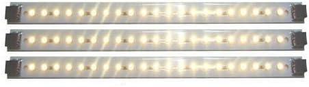 LED Kitchen Light Pro Series 3 Panel Pack Inspired LED 12 Watts 12V DC Warm White 3000 K 145 lm ft